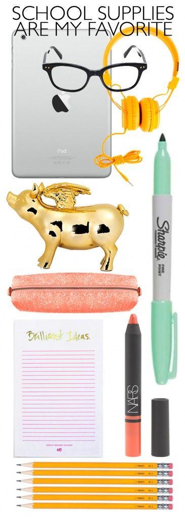 School Supplies Love via Ashley Brooke Designs
