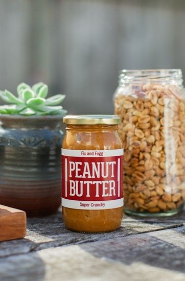 Fix and Fogg - peanut butter made in Wellington