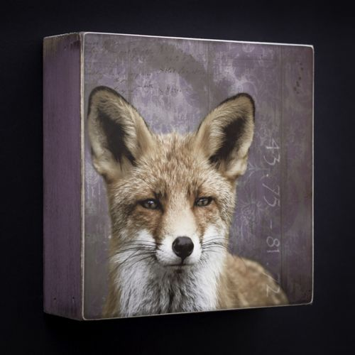 Art Block - Fox by Morgan Jones