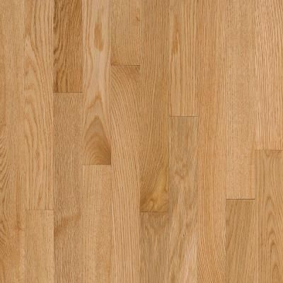 Bruce Natural Reflections Oak 5 16 In Thick X 2 1