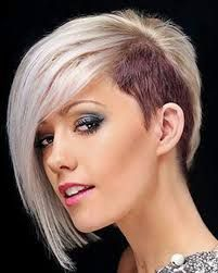 Risultati immagini per tagli capelli meà lunghi metà rasati