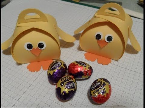 Easter Chick Curvy Keepsake Gift Box - YouTube