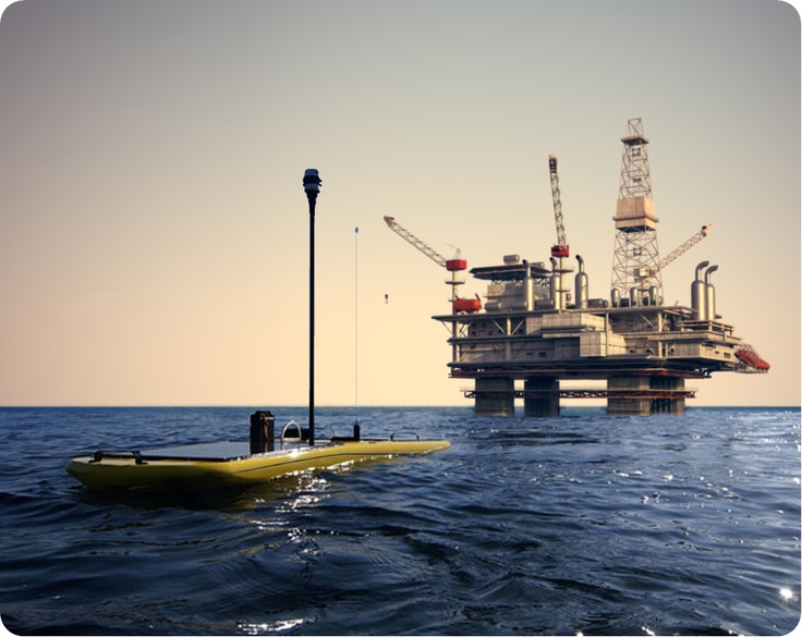 The growth in oil exploration has facilitated a demand from offshore oil companies  for high quality surveying and monitoring data. Using data from sensors such as the Chelsea UV AquaTracka deployed from the Wave Glider®, Liquid Robotic can  provide real-time information on water quality to the oil industry at a fraction of the cost of traditional data acquisition methods such as support ships and ROV.
