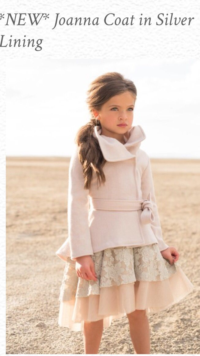Adorable coat, dress (and hair) for an Autumn Beach Wedding. Why not?!