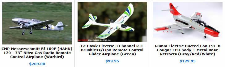 RC Airplanes | RC Nitro Remote Control Radio Control R/C Jets, Aircraft and XHELI RC Helicopters