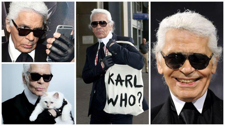 Desafio Papo de Mulher: make inspirada no Karl Lagerfeld! | Blog da Ana