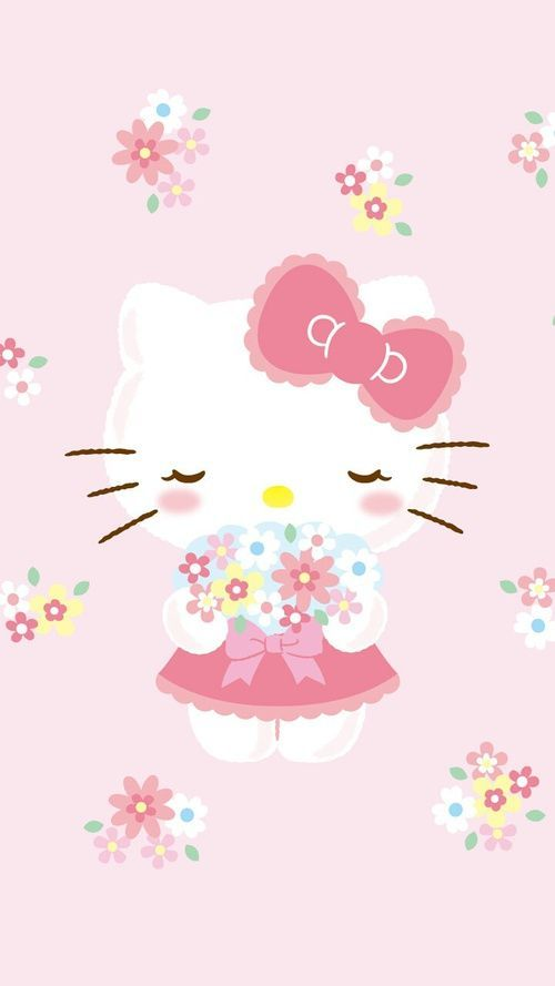 Hello Kitty wallpaper                                                                                                                                                     More and like OMG! get some yourself some pawtastic adorable cat apparel!