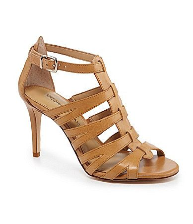 Antonio Melani Sophela Dress Sandals - Dillards  If only these came in a cream color...