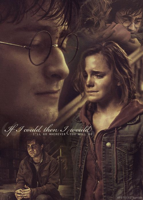 HP - Hermione and Harry's friendship <3