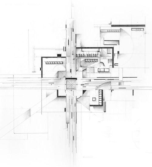 Cubism Plan - Zean Macfarlane - http://zeanmacfarlane.com/