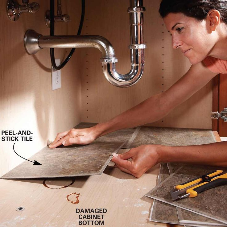 Under-Cabinet Cleanup- Quick Home Upgrades That Deliver Big Results