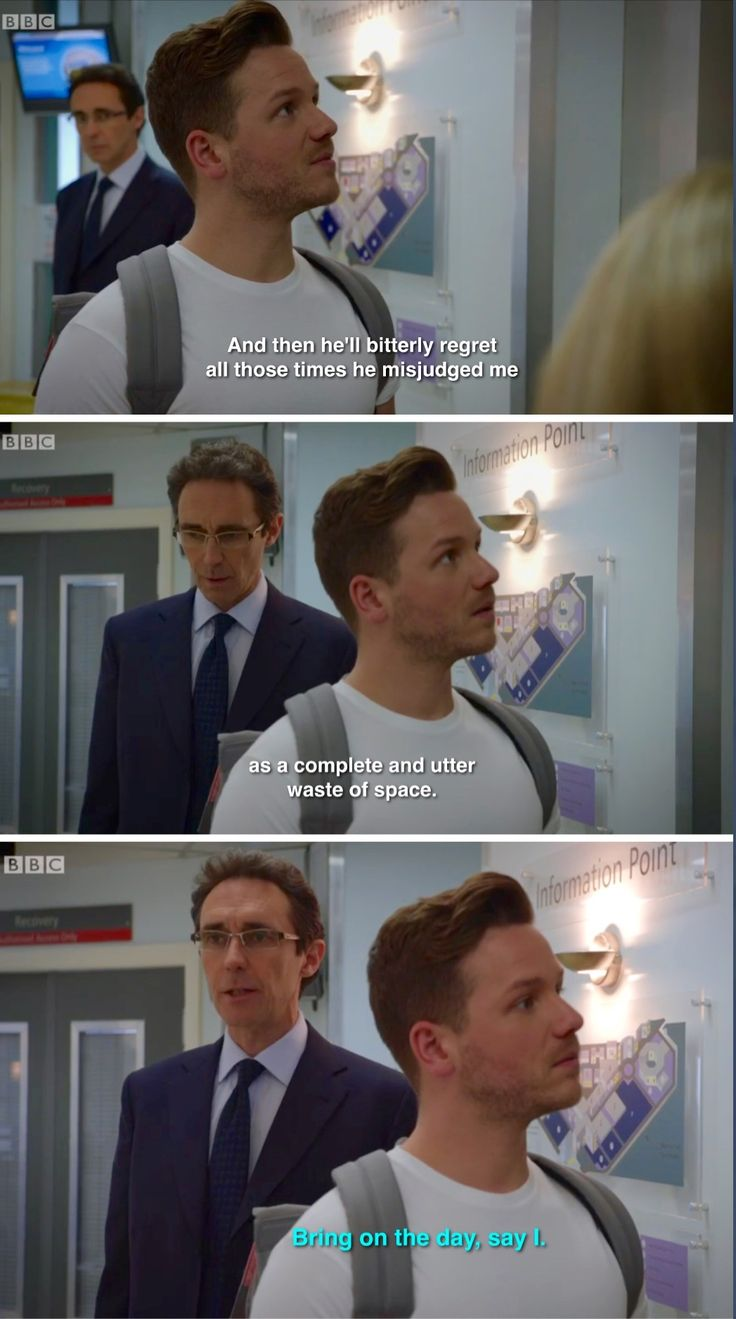 Holby City (17/45) A classic Hanssen loom