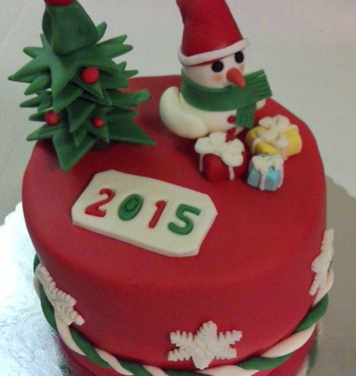 Yılbaşı Pastası. new year cake by @dolisindukkani