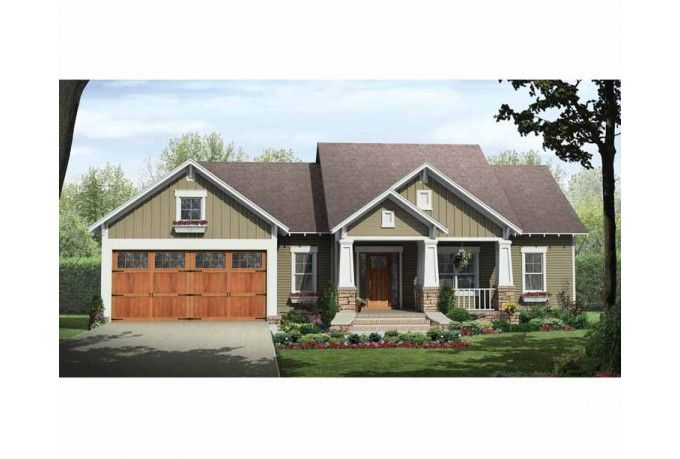 17 best images about plan of the week from eplans on for Craftsman style homes in okc