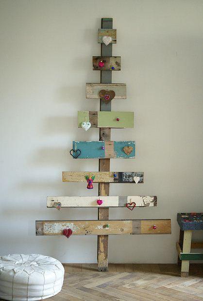 13 Alternative Christmas Tree Ideas