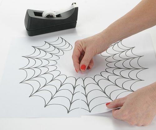 iLoveToCreate Blog: DIY Spider Necklace using Tulip Dimensional Fabric Paint