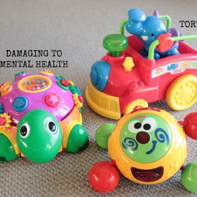 The hazing of new parents needs to stop! Why do you torture new parents with ALL THE NOISY TOYS!!??