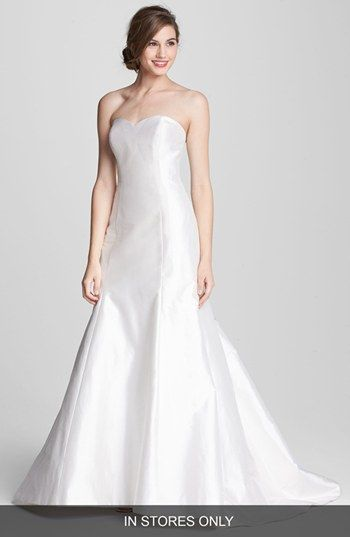 Heidi Elnora Coco Marie Silk Trumpet Wedding Dress In Stores Only