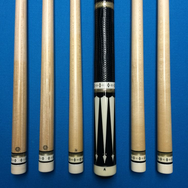 2 Ivory Ferrule Shafts With Moori Tips 1 Of Original 314