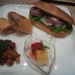 野菜倶楽部 oto no ha Café(オトノハカフェ):サンドイッチセット