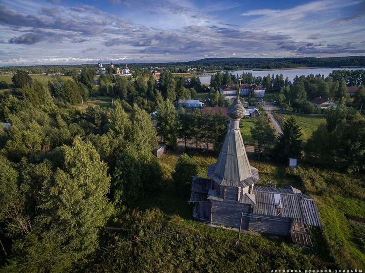 Храм Нила Сорского, Ферапонтово, Вологодская область.
