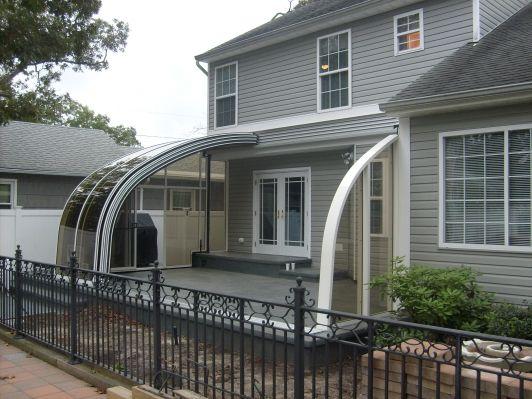 Retractable Patio Enclosure Sunrooms Conservatory
