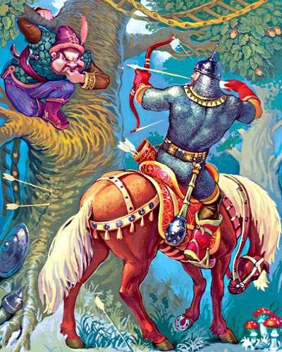 ,,ILJA MUROMIEC w mit. wschsłow. największy bohater bylinny (cykl kijowski). Był synem chłopskim (czasem podaje się imiona jego rod...