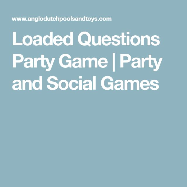 Loaded Questions Party Game | Party and Social Games