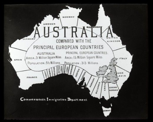 Australia - The Commonwealth Immigration Department wanted to fill it