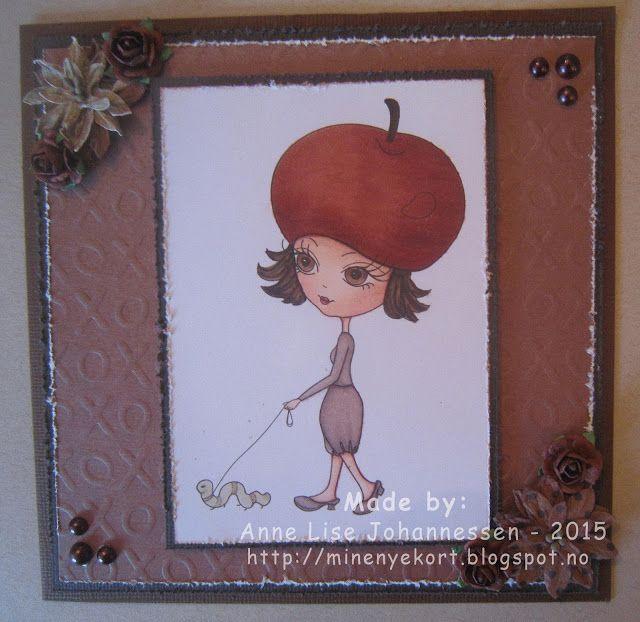 Mine Prosjekter: The apple girl