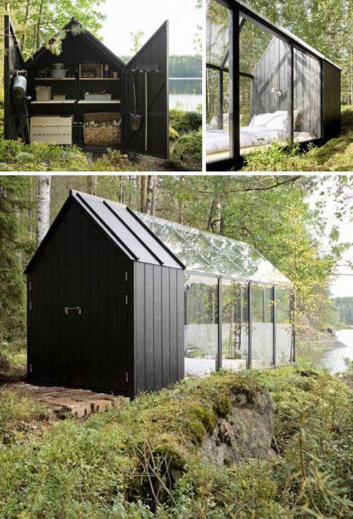 Glazen huis Tuinhuisje met kas van Kekkilä - vtwonen