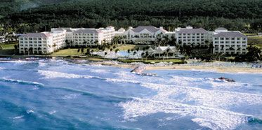 Ritz Carlton Rose Hall in Jamaica...traveled in December, 2011.