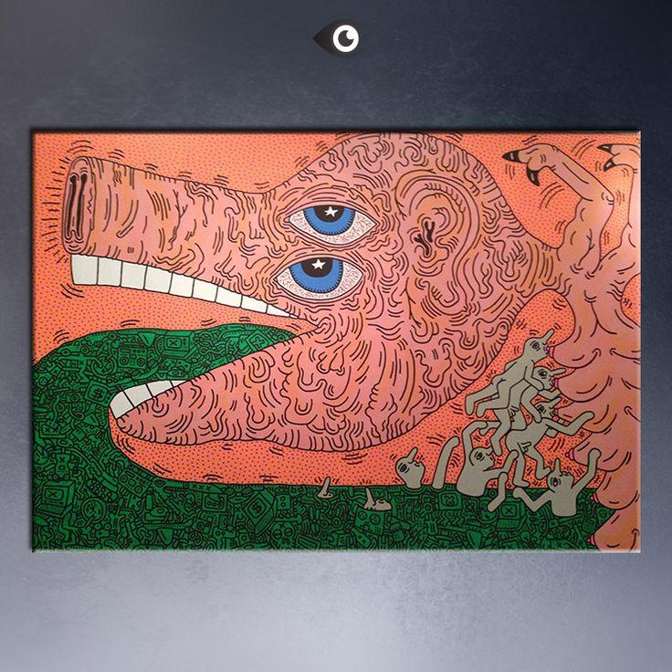 Aliexpress.com: Comprar Keith HARING Original del arte Pop   13 lámina impresión del cartel en la lona de cartel de impresión fotográfica fiable proveedores en DP ARTISAN