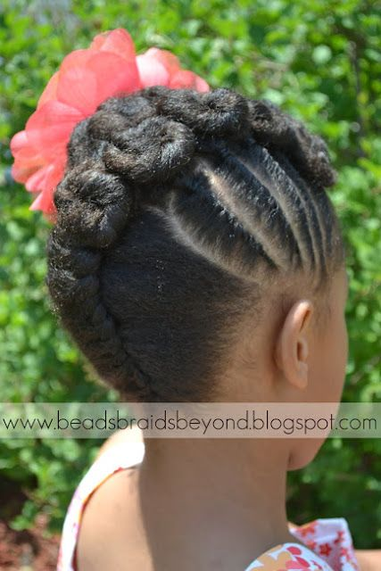 Sensational 1000 Images About Natural Kids Updos On Pinterest Natural Updo Hairstyles For Men Maxibearus