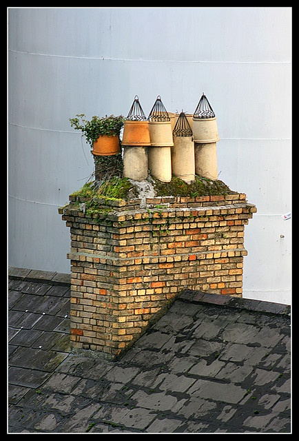 84 best images about chimneys chimney pots on for Stone chimneys