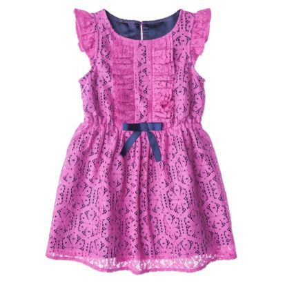 Genuine Kids from OshKosh  Infant Toddler Girls Woven Dress - Rose I am sooooooo buying this