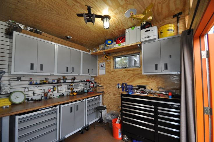 Build Backyard Man Cave : studio #shed #man #cave #garage #storage #hobby #art #gym #backyard