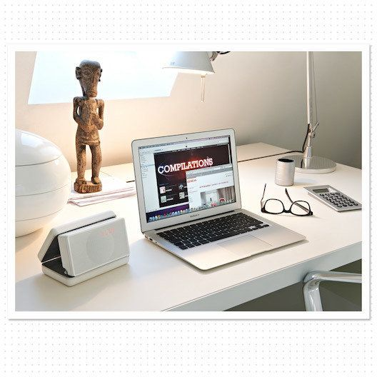 Totally Wired - Geneva XS White - the ultimate compact and portable Hi-Fi system