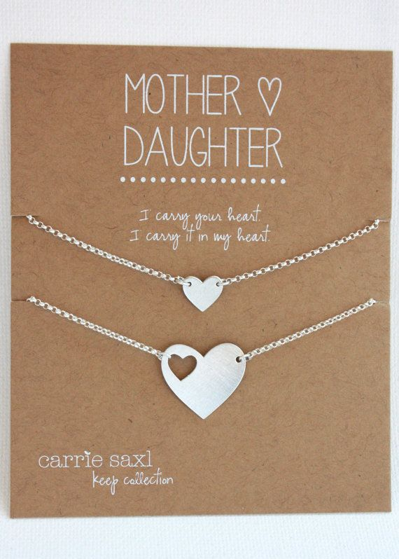 Mother Daughter Bracelet Set back to school gift by carriesaxl