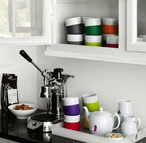 Royal Copenhagen - Fluted Contrast Mugs