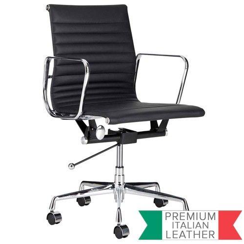 Management Office Chair - Eames Reproduction - Black - Premium