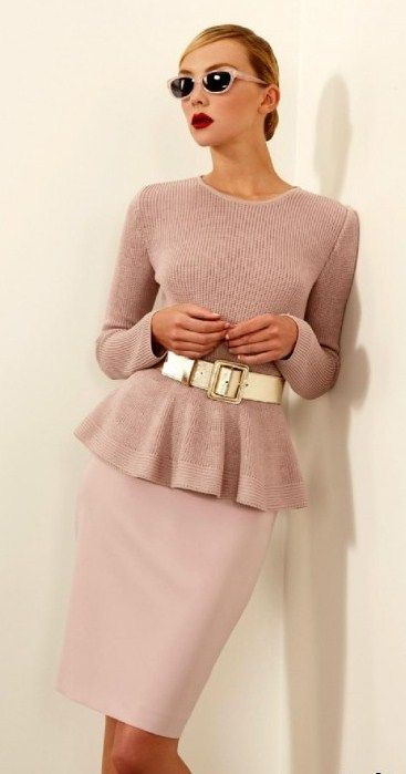 power dressing outfit