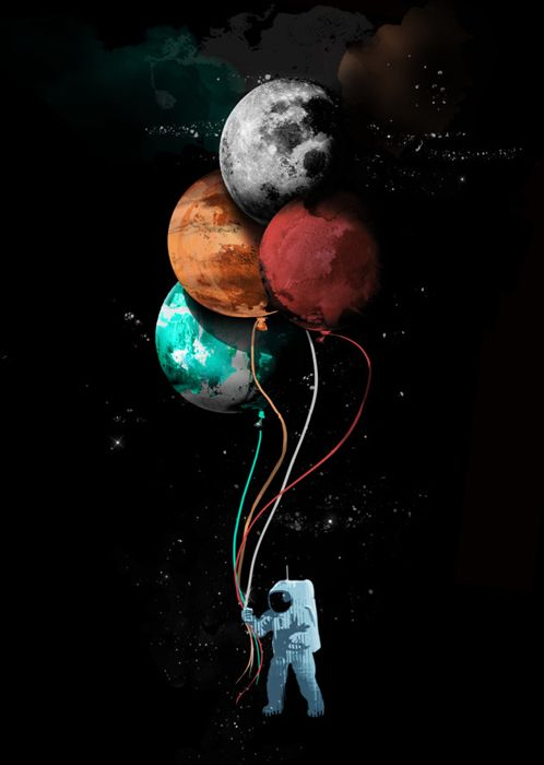 septagonstudios:  Elan Harris a.k.a. gloopz The Spaceman's trip