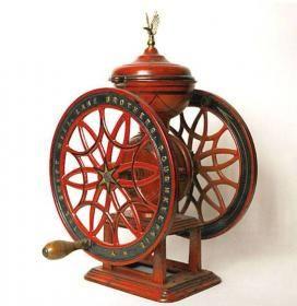 Antique coffee grinder: Grinders Bins And Tins, Antique Coffee, Grinder Memorial, Vintage Coffee, Coffee Mills, Coffee Grinders Bins And, Antiques Coffee, Memorial Mills, Amser Memorial