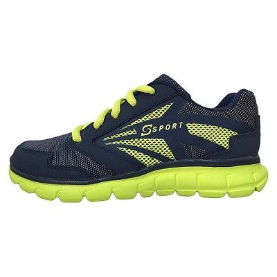 85bb51b6631e Big Boys  S Sport By Skechers Swervz Performance Athletic Shoes - Blue 2