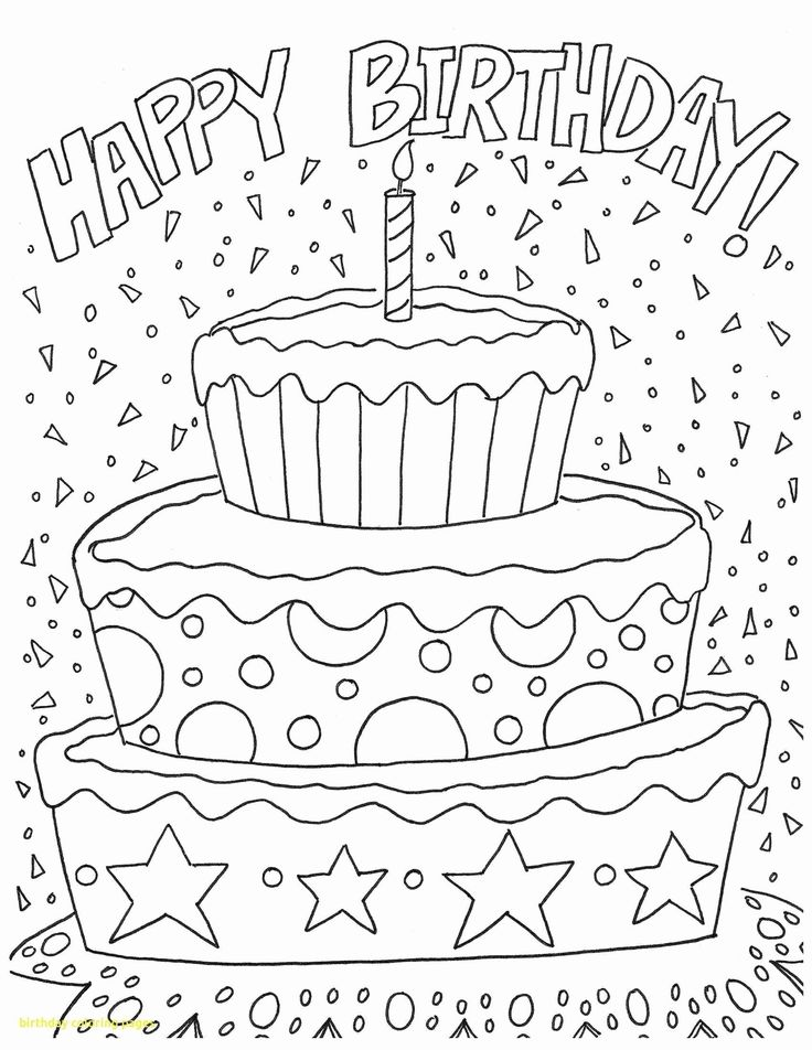 39+ Cute happy birthday mom coloring page ideas in 2021