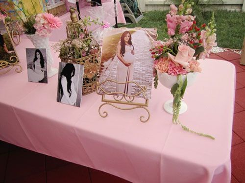 Elegant Pink And Gold Beautiful Bird Cage Themed Baby Shower Maternity  Photography On Welcome Table Next