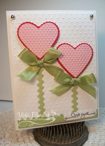 25 best ideas about Homemade valentine cards – Creating Valentine Cards