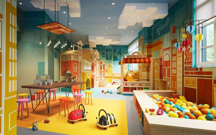 A Children's Playroom - HouseBeautiful.com