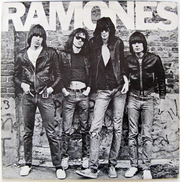 "Jual Jaket Kulit ""The Legend"" Ramones"